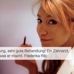 Frau Frederika Rib